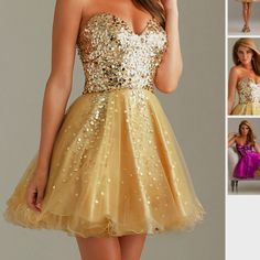 This makes me wish I was still in high school, homecoming and prom were always my favorite times of the year.