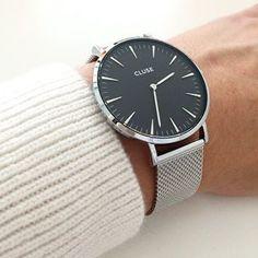 Mijn favoriete #cluse horloge! Deze is ook weer op voorraad in onze webshop:)!!