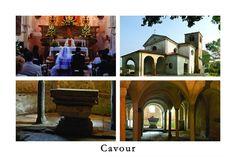 Cartolina su Cavour - Abbazia di S.Maria [Apre una nuova finestra] Image