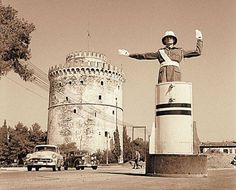 White Tower of Thessaloniki Greece Pictures, Old Pictures, Old Photos, Vintage Pictures, Macedonia Greece, Athens Greece, Greece Thessaloniki, History Of Photography, Tower