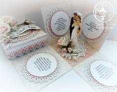 Sezon ślubny w pełni więc w użyciu Wedding morning UHK Gallery delikatne róże, białe koronki i piękna ślubna figurka i mamy taki efekt:...