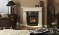 DRU Global 40 CF conventional flue gas fire | DRU - Designed to be different