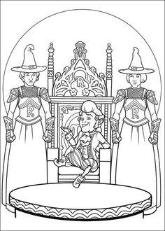 Shrek Tegninger til Farvelægning. Printbare Farvelægning for børn. Tegninger til udskriv og farve nº 113