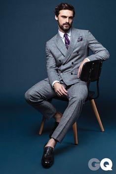 Workwear Fashion, Mens Fashion, Fashion Blogs, Girl Fashion, Fashion Trends, Business Casual Men, Men Casual, Gq Mens Style, Gq Style