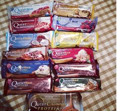 These are my favorite protein bars. High in fiber, low in carbs and sugar, and they taste great!!