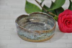Coin Dish, Catchall, Pottery Bowl, Pottery, Dish, Wheel Thrown Pottery, Handmade, Nut Bowl, Condiment Bowl, Serving, Oven Safe, Decorative by ShawnaPiercePottery on Etsy