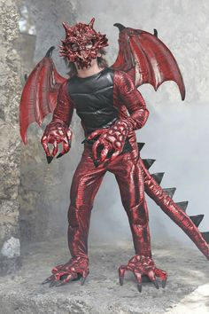 """""""Shop Chasing Fireflies for our Demon Dragon Costume for Boys. Browse our online catalog for the best in unique children's costumes, clothing and more. Boys Dragon Costume, Dragon Halloween Costume, Shrek Costume, Demon Costume, Dinosaur Costume, Scary Costumes, Boy Costumes, Halloween Dress, Halloween Kids"""