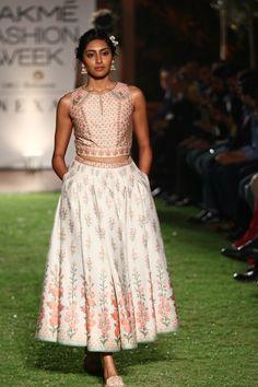 abdd0cc622 Cute Sneakers, Anita Dongre, Lakme Fashion Week, Printed Skirts, Indian Wear ,