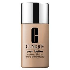 I've used this foundation for the past four years now and I am so in love: Clinique Clinique Even Better Makeup...