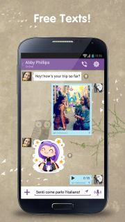 Download free Viber For Android Phones V 4.1.1.10 free mobile software.With Viber, everyone in the world can connect. Freely.