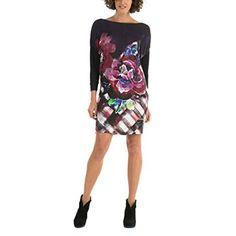 Chollo en Amazon España: Vestido Desigual Celandia por solo 39,95€ (un 49% de descuento sobre el precio de venta recomendado y precio mínimo histórico)