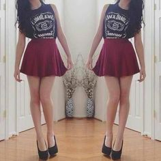 Edgy yet girly