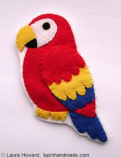 some asked me to make a parrot today and now I find one!