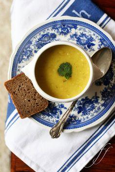 Zuppa di pastinache e curry