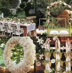 French Country Wedding Decorations | countryside wedding decoration | Weddings on the French Riviera