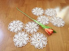 Crochet Lace by Sarmite on Etsy