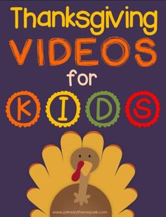 Spice up your study of the Pilgrims with this collection of Thanksgiving videos for kids. Includes fun ideas and activities to use with them. Thanksgiving Videos For Kids, Thanksgiving Art, Thanksgiving Preschool, November Thanksgiving, Thanksgiving Decorations, Pilgrims, School Holidays, Spice, Study
