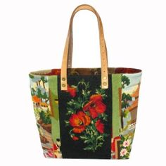French Tote Bag Collection Needlepoint Tapestry Ledemoz