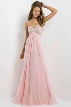 2014 Hot Sales Prom Dresses Sweetheart Empire Wasit A Line Open Back Floor Length Beaded Bodice