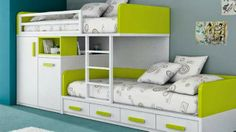 bunk beds with storage, kids bedroom ideas for tow kids
