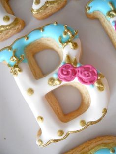 .Oh Sugar Events: Tea Party Cookies