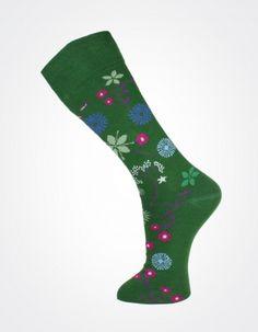 Effio X Effio Bloom of Life - Bloom No.706 #Men #Fashion #Socks #Flower #Green