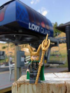 Lego Loki quad - Avengers assemble!
