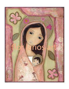Flor Larios Art Print