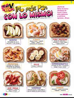 No Más Pan con lo Mismo!