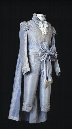Swedish court gala dress, 1790s.