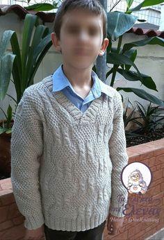 Χειροποίητο πλεκτό με βελόνες Knitting Pullover
