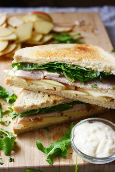 Turkey, Apple, and Brie Sandwich with Apple Cider Mayo - WomansDay.com