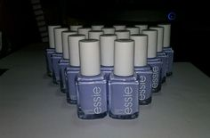 20 ESSIE Wholesale Nail Polish Sparkly Baby BLUE baby bridal shower party favor
