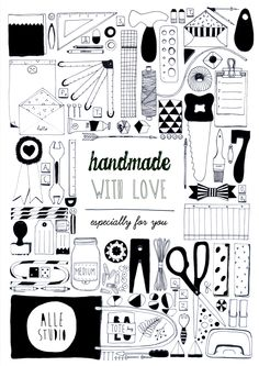 Handmade with love - Alle studio