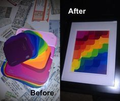 Look What I Made with Paint Samples! - Imgur