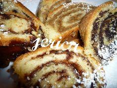Orechová plnka excelentná (fotorecept) - recept   Varecha.sk Slovak Recipes, Czech Recipes, Russian Recipes, Sweet Desserts, Sweet Recipes, Challa Bread, Christmas Baking, Hot Dog Buns, Baked Goods