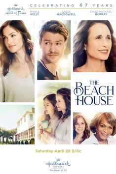 "The Beach House is a 2018 Hallmark Channel Original Movie. Plot: Caretta ""Cara"" Rudland (Minka Kelly) thought she'd left her Southern roots and troubled family far behind, but returns to the scenic Lowcountry of her childhood summers after losing her job in Chicago. There, she reconnects with her mother Lovie (Andie MacDowell), who has been caring for her young, pregnant friend Toy (Makenzie Vega) in her charming beach house."