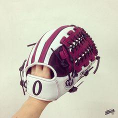 Build your custom glove at gloveworks.net and bring it home! #baseball #softball #sports #sportsgear #equipment #glove #baseballglove