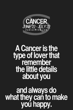 Daily Horoscope Cancer The type of lover your Zodiac sign is! Zodiac Mind Your #1 source for Zodiac Facts