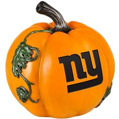 New York Giants Logo Pumpkin, Gia Team (382.760 IDR) ❤ liked on Polyvore featuring accessories and gia team
