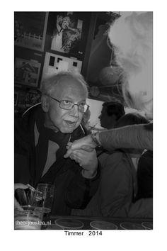 R'dam cafe Timmer  street photography black and white straatfotografie zwart wit