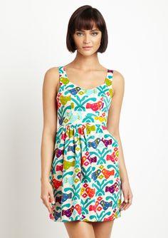 Cute spring dress by Judith March @ruelala