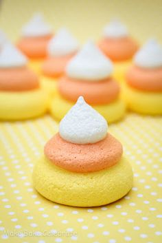 MBC: {Candy Corn Week} Candy Corn Meringues