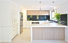Kitchens by Emanuel  (snow benchtop)
