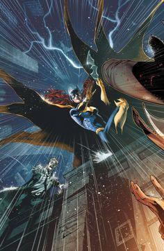 Batgirl by Eddy Barrows.