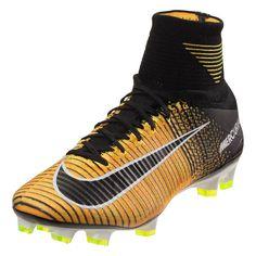 3762d0c9f Nike Mercurial Superfly V FG Soccer Cleat - Laser Orange White Black Volt