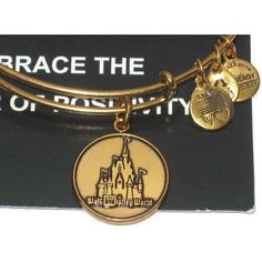 Disney castle alex & ani bracelet.