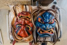 Namahage – Ancient oni unique to the Oga Peninsula | STAY AKITA – Depth of Beauty – Men Dress Up, Japanese Artists, Black Forest, Akita, Horror Movies, Scary, Lion Sculpture, Old Things, Museum