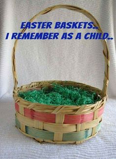 I had this Easter basket during my childhood. My Childhood Memories, Childhood Toys, Great Memories, Those Were The Days, The Good Old Days, Vintage Easter, Vintage Holiday, Nostalgia, I Remember When