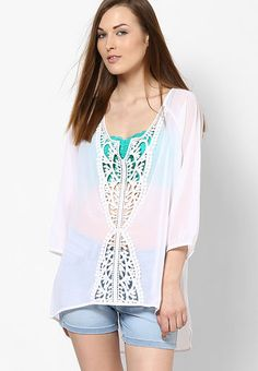 White Cutout Top / ONLY / Rs.1695